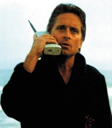 old cell phone michael douglas