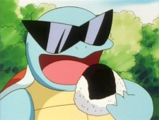 squirtle food sushi anime
