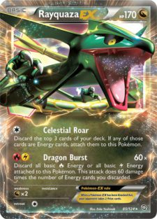 rayquaza ex dragons exalted drx