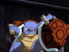 blastoise vs blastoise first movie