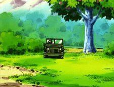 car road pokemon anime