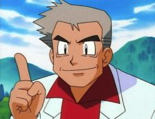 professor oak finger idea