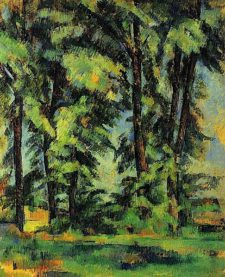 forest trees 486px-Paul_Cézanne_076