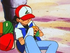 ash ketchum preparing poke ball