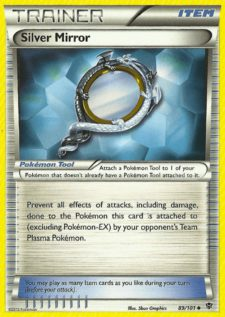 silver mirror plasma blast