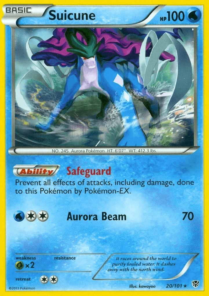 pokemon suicune ex - 700×990