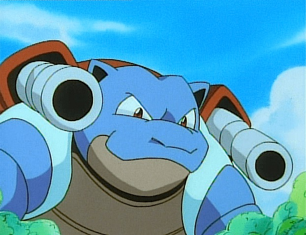 Red Blastoise The Second Stag...