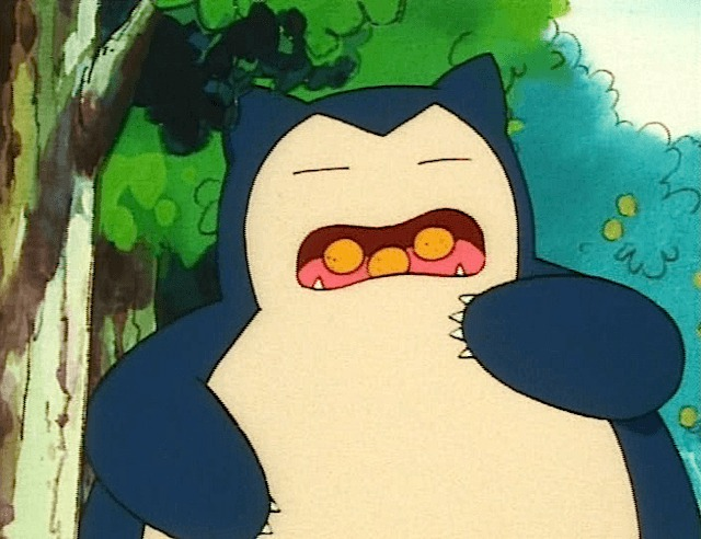 """Snorlax Eating """"Get a Whiff o..."""