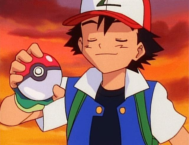 ash proud poke ball