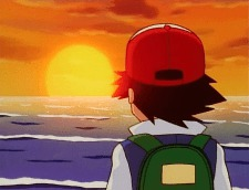 ash sunset ocean