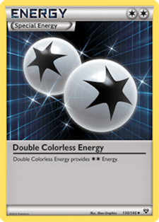 double colorless energy xy 130 official