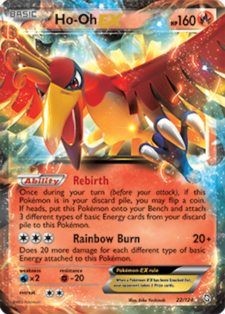ho-oh-ex dragons exalted drx 22 official