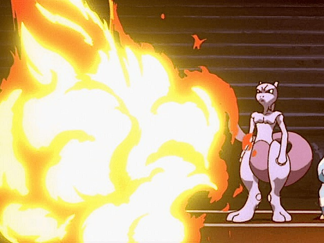 mewtwo fire
