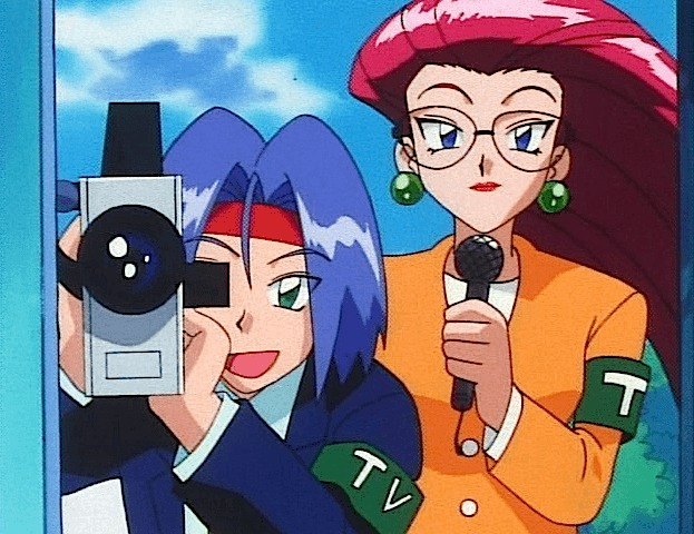 recording camera interview team rocket