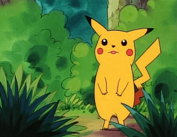 pikachu looking stretch