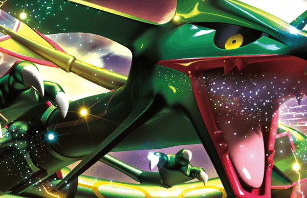 rayquaza-ex drx 85 artwork