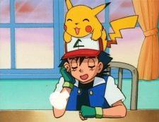 ash pikachu relief