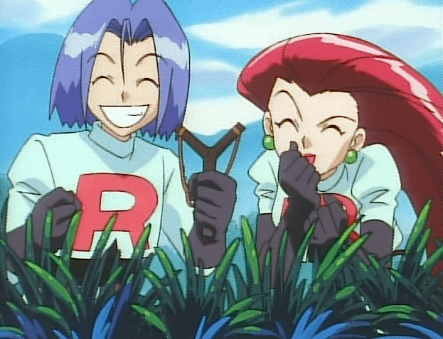 jesse james slingshot team rocket