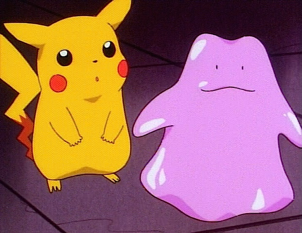 pikachu ditto