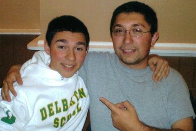 Michael and Frank (circa 2010)