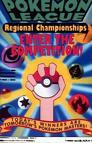 pokemon league enter the competition sharp