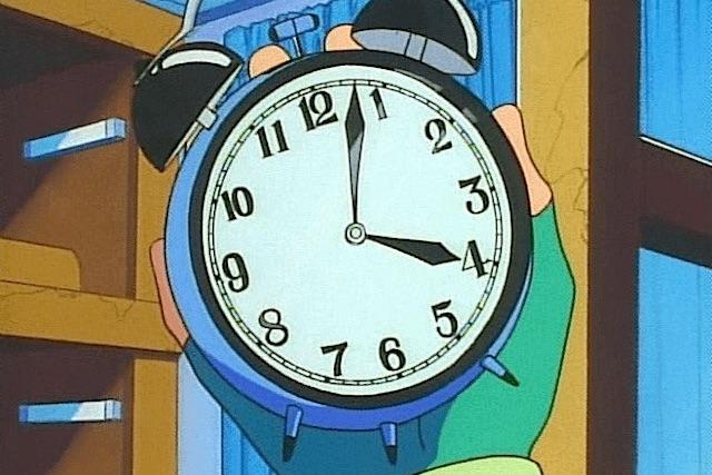 alarm clock time 3-2