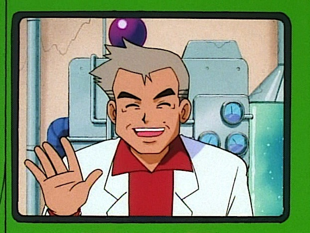 professor oak wave hello crop