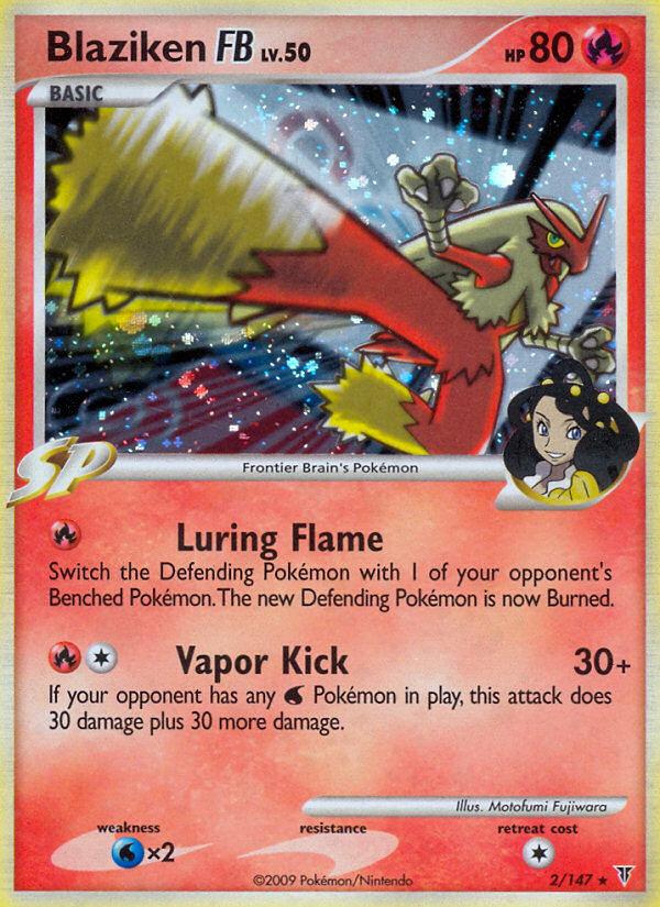 Blaziken FB Supreme Victors SV 2 Pokemon Card