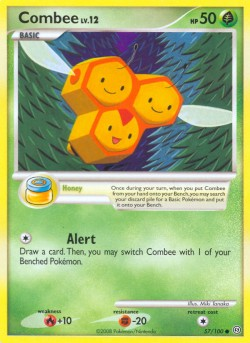 Combee Stormfront SF 57 Pokemon Card