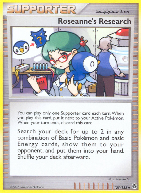 Roseanne's Research Secret Wonders SW 125 Pokemon Card