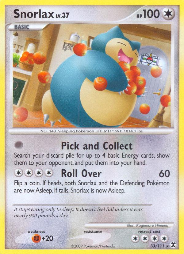 I Sleep, You Sleep – Can Snorlax Pokemon Cards be Viable?