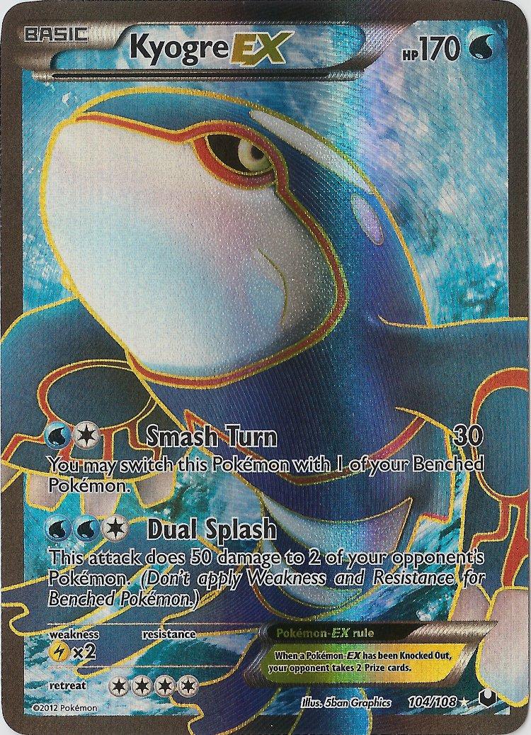 Kyogre ex dark explorers dex 26 104 card of the day - Photo pokemon ex ...