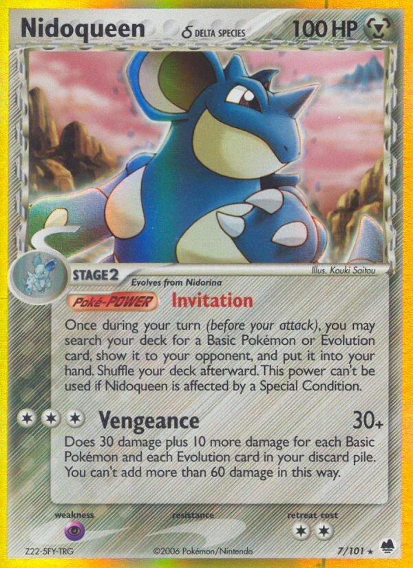 pokemon nidoqueen card - 600×825