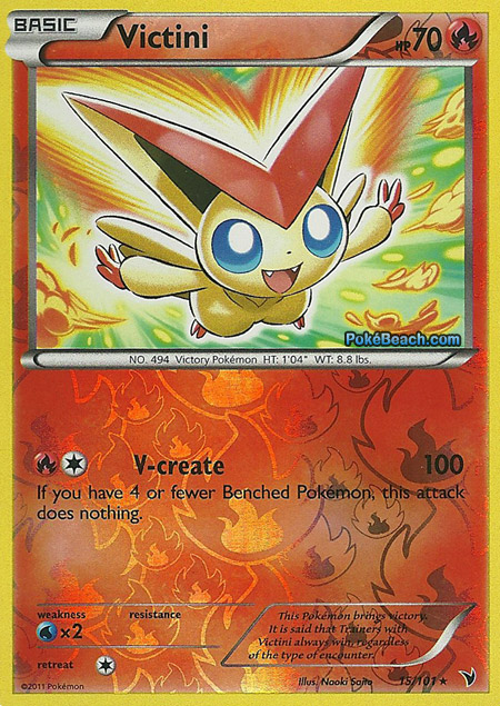 Victini (Noble Victories NV 14 & 98, 15, & 43) – Card(s ...